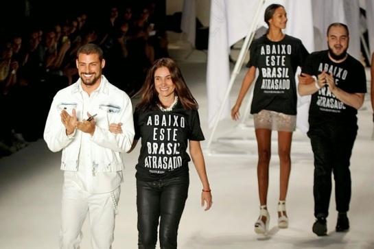 Campanha hipócrita da marca Ellus. Foto: Aldeia Gaulesa.
