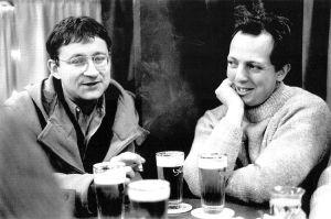 Guy Debord e Raul Vaneigem, idealizadores da Internacional Situacionista.