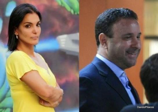 A agente de trânsito Luciana Tamburini e o juiz João Carlos de Souza Correa: juiz é deus?
