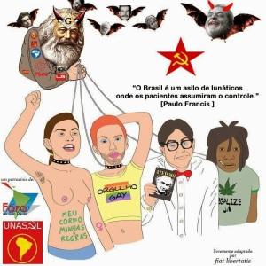 O Marxismo cultural em uma imagem.
