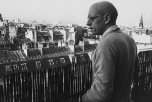Foucault por Martine Frank.