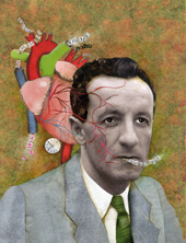 Merleau-Ponty, 1908 - 1961. Imagem: The Montreal Review.