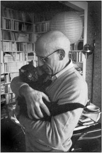 Michel Foucault, por Martine Frank, 1978.